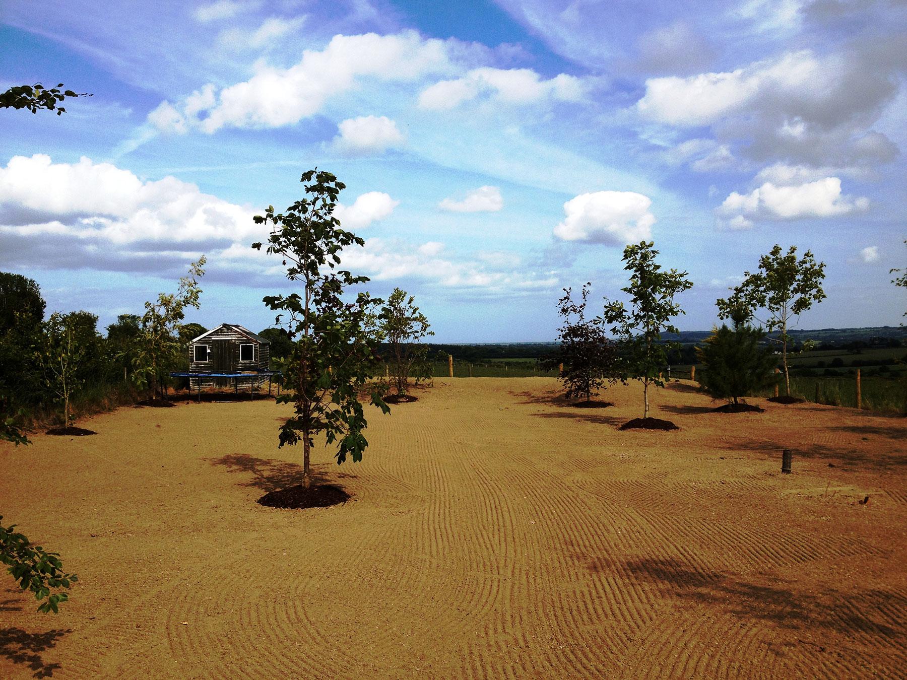 Landscaping design kinbark products ltd for Create landscaping ltd